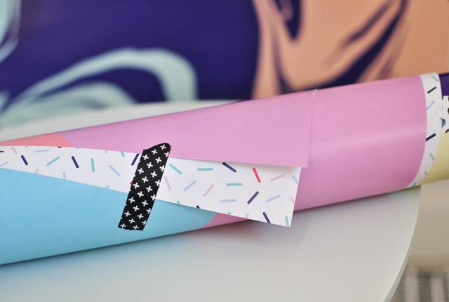Les emballages cadeaux de la marque de papeterie française Yipikai