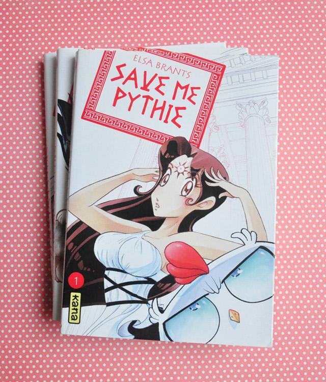 Le manga Save me Pythie!