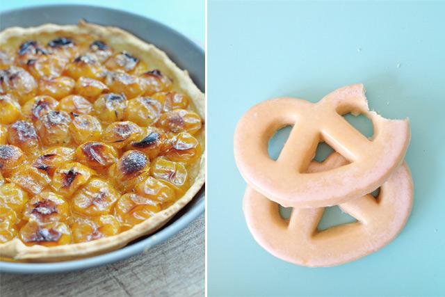 Tarte aux mirabelles et biscuits suisses - Gourmandises - Petits Bonheurs # 7 sur le blog lifestyle Birds & Bicycles