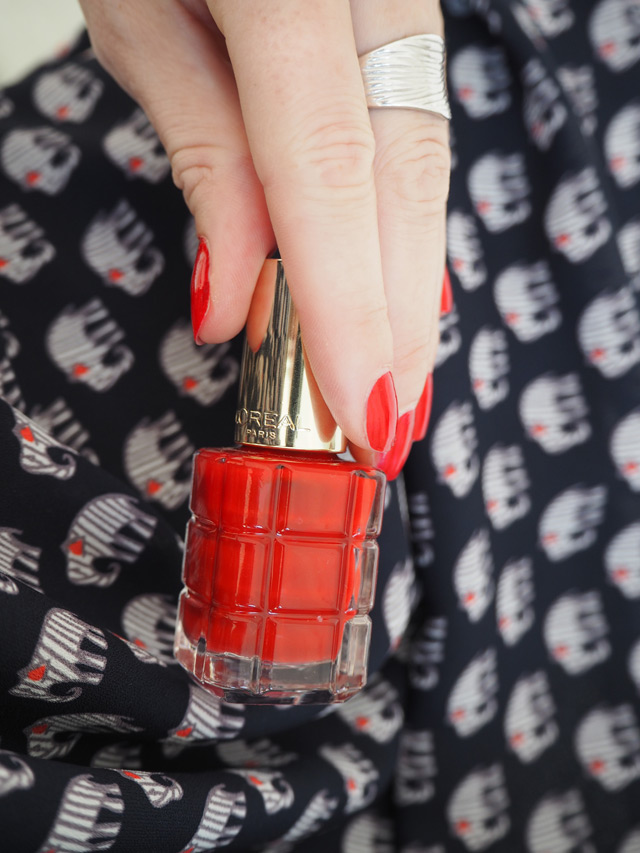 Vernis Rouge Sauvage 550 : le vernis à l'Huile de L'Oréal