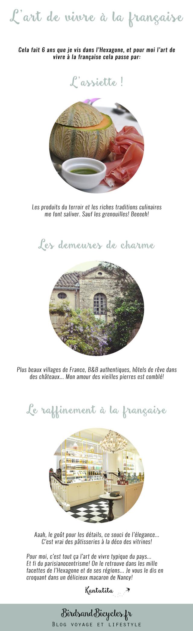 L'art de vivre à la française... vu par le blog féminin Birds & Bicycles