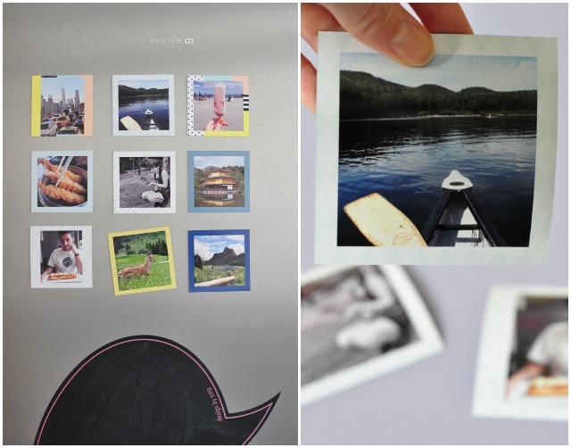 Imprimer ses photos aimantées pour le frigo!