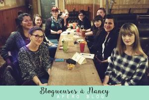 Blogueuses de Nancy lors de l'apéro organisé par Lady Beth!