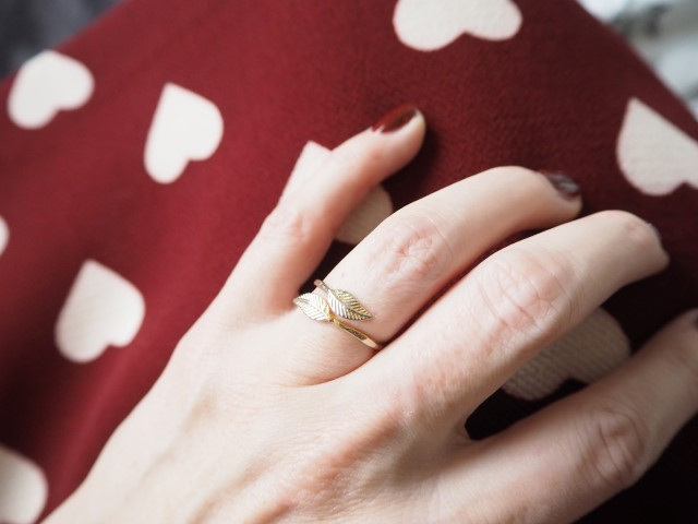 bague feuille blog lifestyle Birds and BIcycles