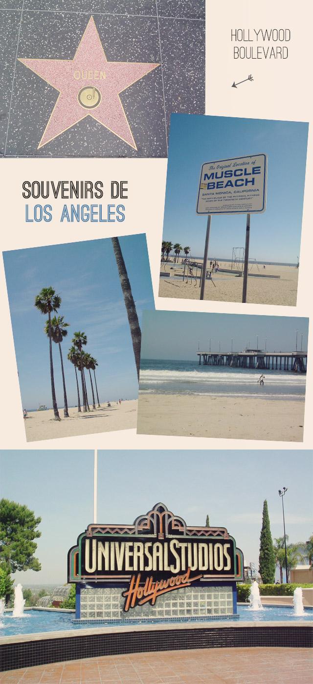Los Angeles: souvenirs de voyage!
