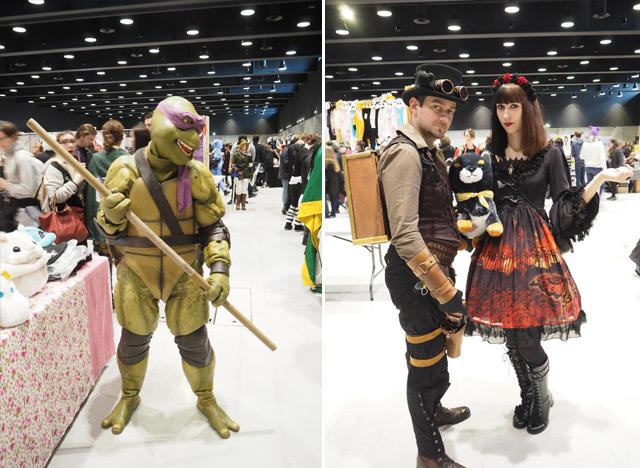 Animest 2016 Tortue Ninja et steampunk