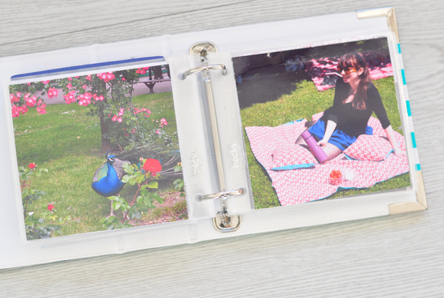 Inspiration sur le blog lifestyle Birds & Bicycles: Documenter son quotidien en photos avec un mini album Project Life