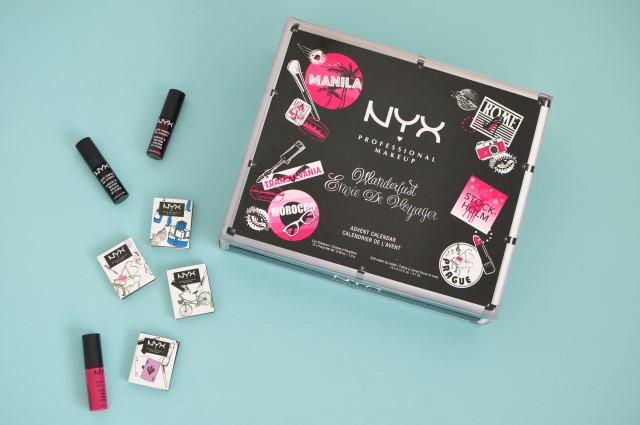 Calendrier de l'Avent NYX Wanderlust - avis et test sur le blog beauté