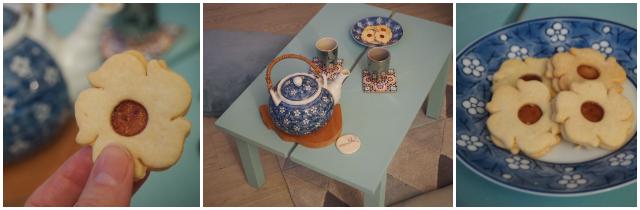 Thé et biscuits marocains