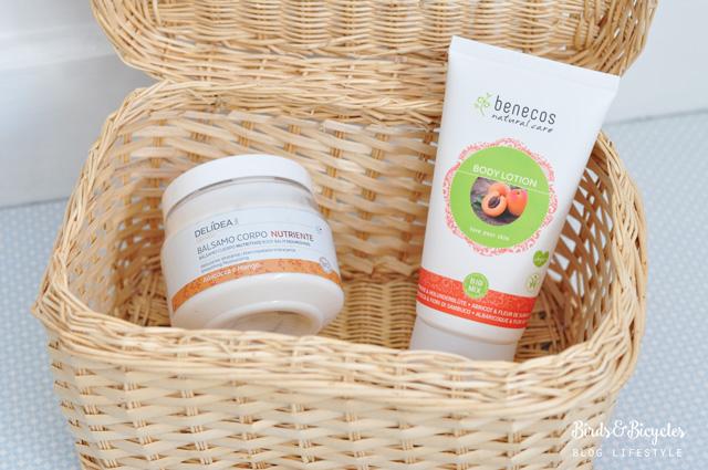 Crèmes pour le corps bio à l'abricot: mes conseils - Blog beauté Birds & Bicycles