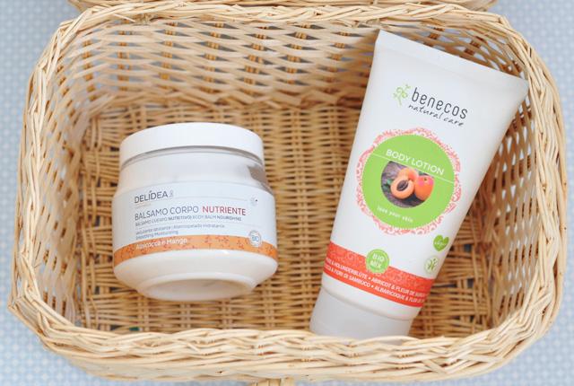 Crèmes corps bio à l'abricot: mes conseils