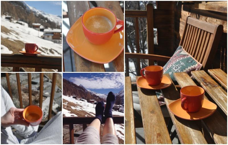 Pause café équitable dans les montagnes!