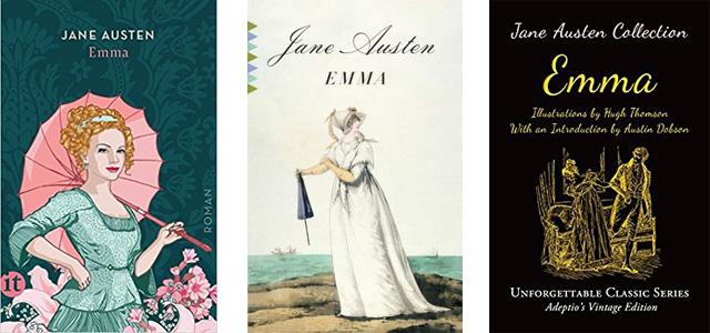 Différentes éditions de Emma De Jane Austen - Mon avis sur ce roman!