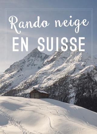 Rando neige en Suisse, en Valais!