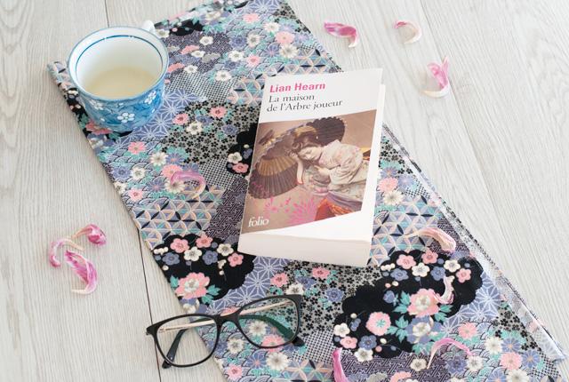 """Avis sur le roman japonais """"La maison de l'arbre joueur"""" de Lian Hearn"""