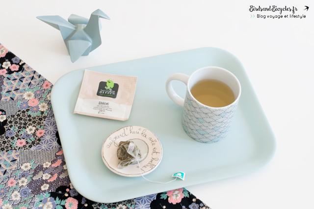Sur le blog: Thé Hanami de la gamme Japanese Garden de la Maison du Bon Café