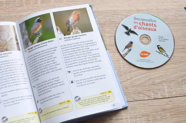 Livres sur la nature: un guide pour apprendre à reconnaître le chant des oiseaux (avec un CD!)