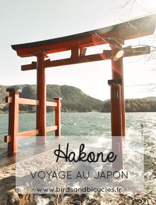 Hakone, étape de mon voyage au Japon - Blog Birds & Bicycles