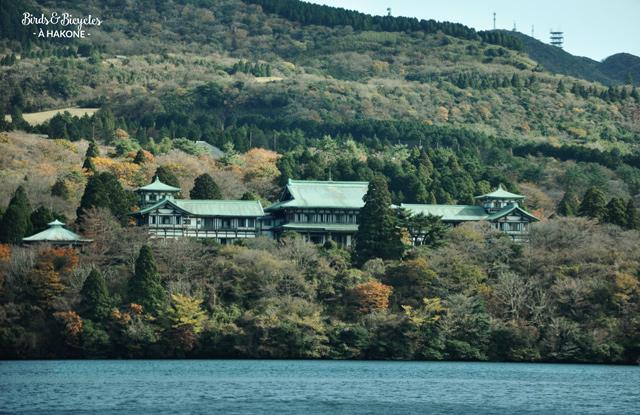 Voyage à Hakone au Japon Rives du lac Ashi