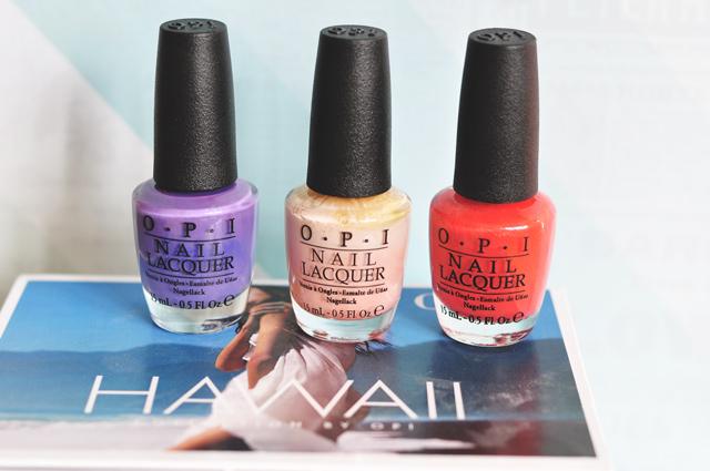 Vernis à ongles OPI - On regarde la compo des vernis sur le blog!