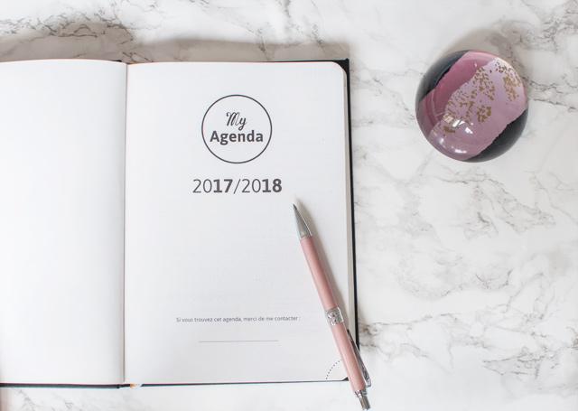 My agenda 365, entre un agenda et un bullet journal !
