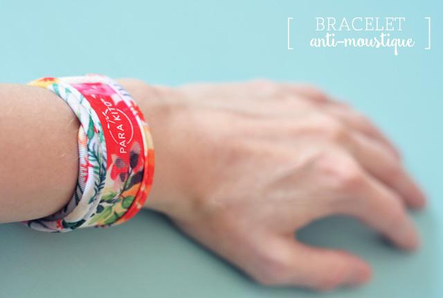 Bracelet anti-moustique aux huiles essentielles - au design sympa! Par Parakito
