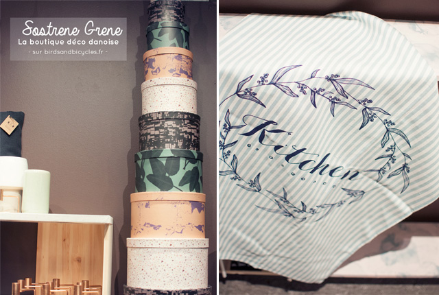 Sostrene Grene - boutique déco - Sur le blog Birds & Bicycles
