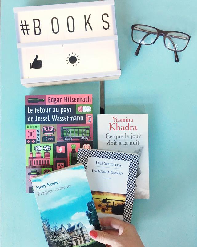 Chroniques de mes romans de l'été sur le blog Birds & Bicycles