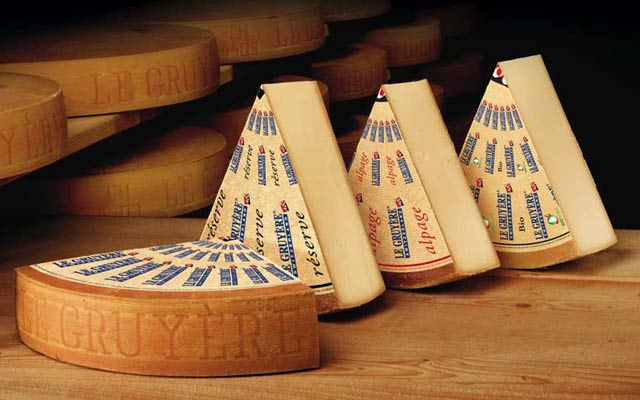Photo officielle du célèbre fromage SANS TROUS