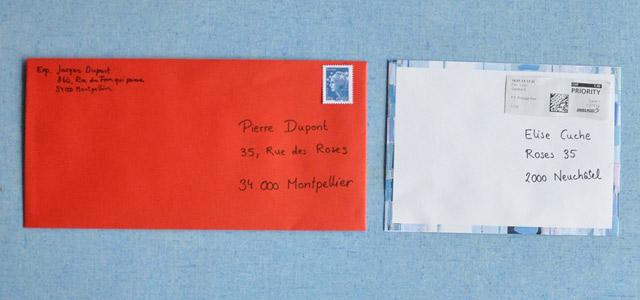 Envoyer une lettre la fran aise for Se mettre a son compte mais dans quoi