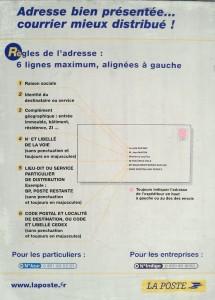 la poste francaise instructions