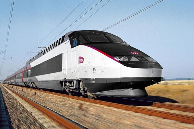 TGV train france
