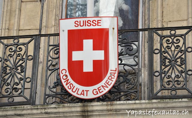 Le consulat suisse de Marseill