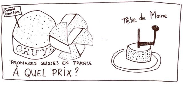 prix fromages suisses en france