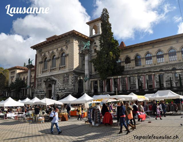Palais de la Rumine à Lausanne