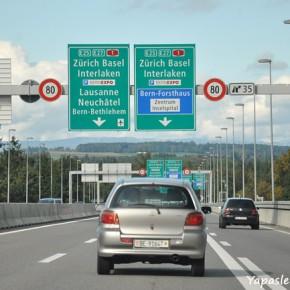 Retour en Suisse: entre Lausanne et Bâle…