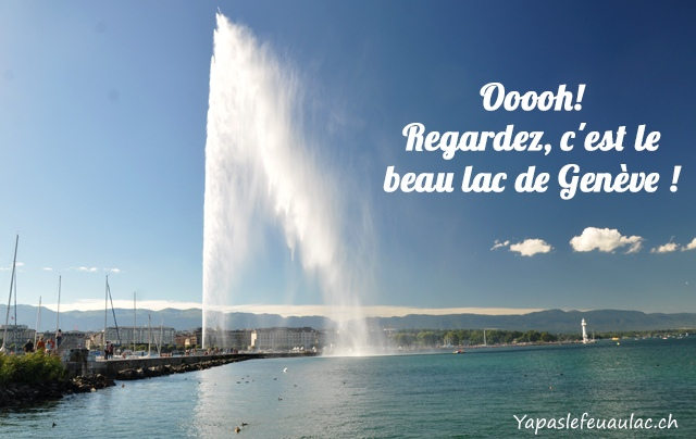 Le Lac de Genève... hum hum