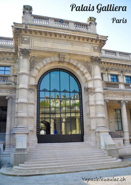 Le Palais Galliera, Musée de la mode de paris