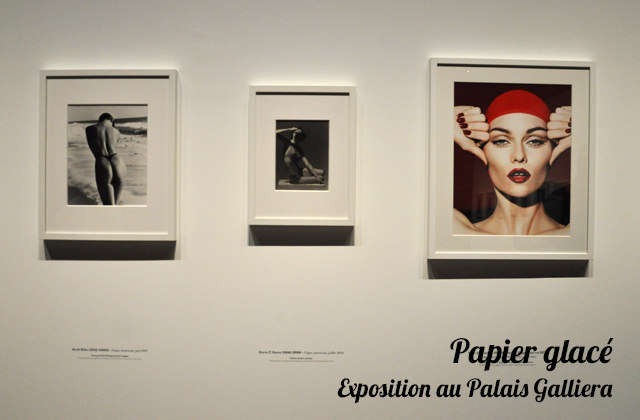 Expo Papier glacé sur les photos de mode