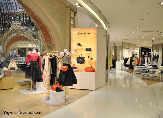Galeries Lafayette de Paris, boutique Repetto