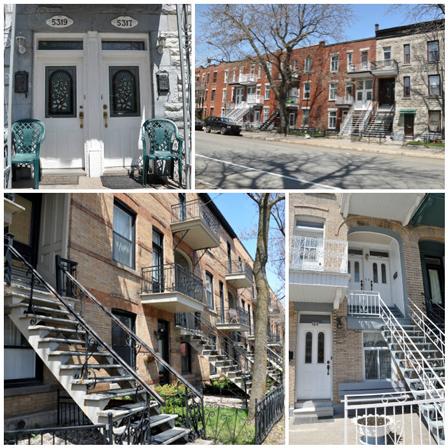 Maisons mignonnes à Montréal