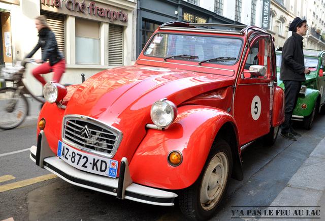 Paris en 2CV (2)