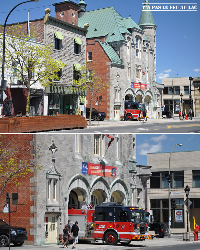 Caserne de pompiers dans une église - Montréal - Yapaslefeuaulac.ch