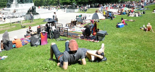 Parc Jeanne Mance Montréal