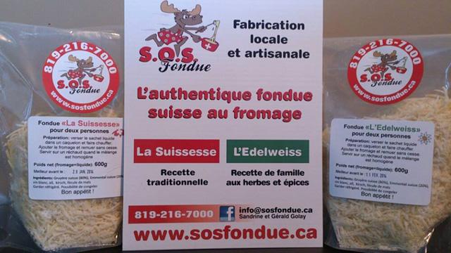 L'authentique fondue suisse - disponible au Québec