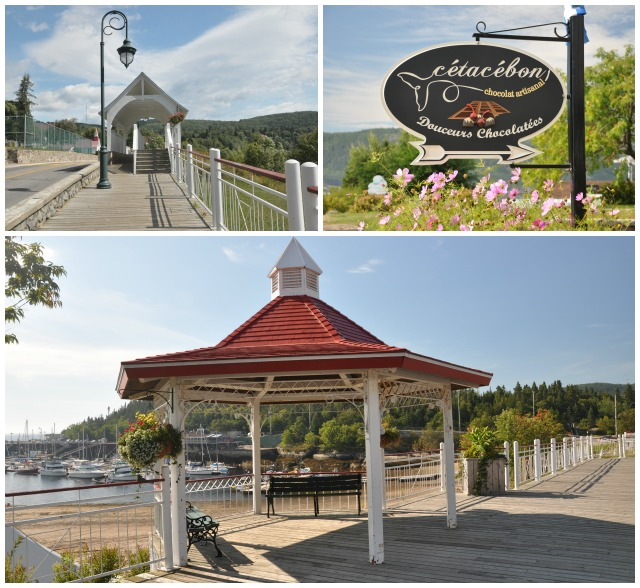 Collage Tadoussac