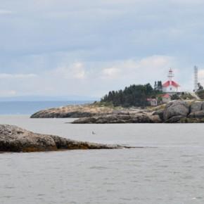 Escapade sur une île du Saint-Laurent