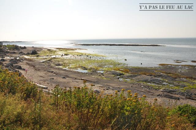 La côte du Bas Saint Laurent après Rimouski