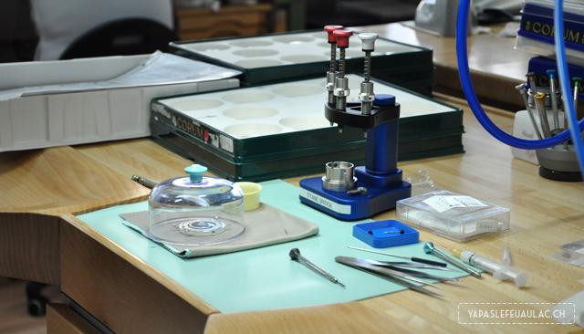 Visite de la Manufacture Corum