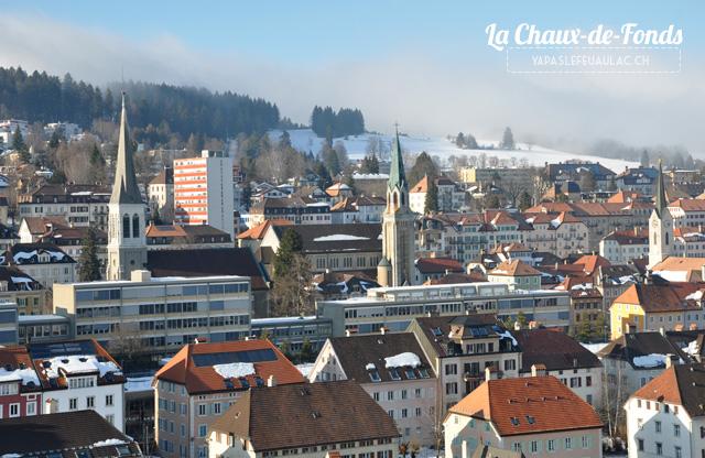 La Chaux de Fonds - ville horlogère suisse